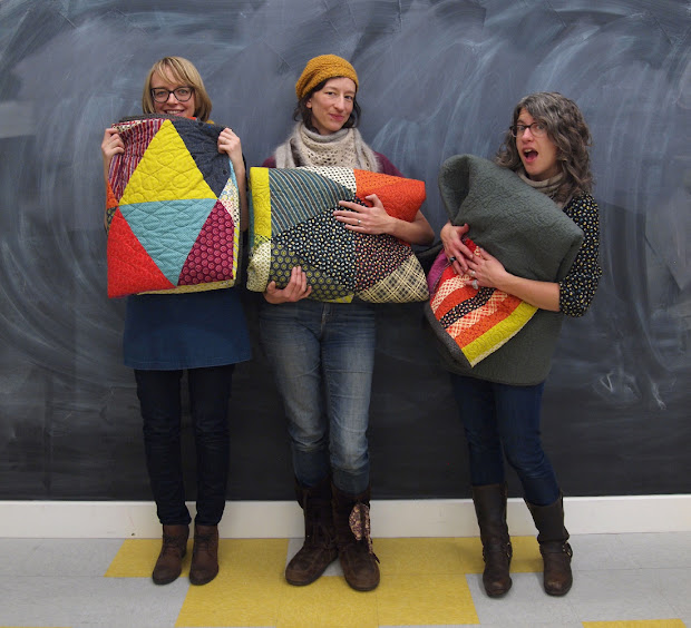 Fancy Tiger Crafts Pyramid Pals Three Chicopee Quilts
