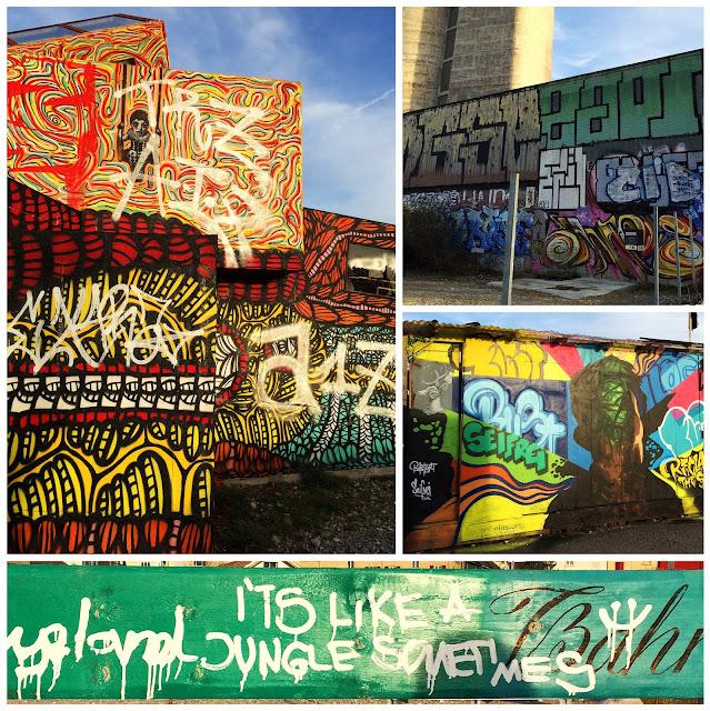Expat life, life in Switzerland,Swiss expat, Basel, life in Basel, living in Basel, Textile Candy, street art, kleinbasel, graffiti, its like a jungle