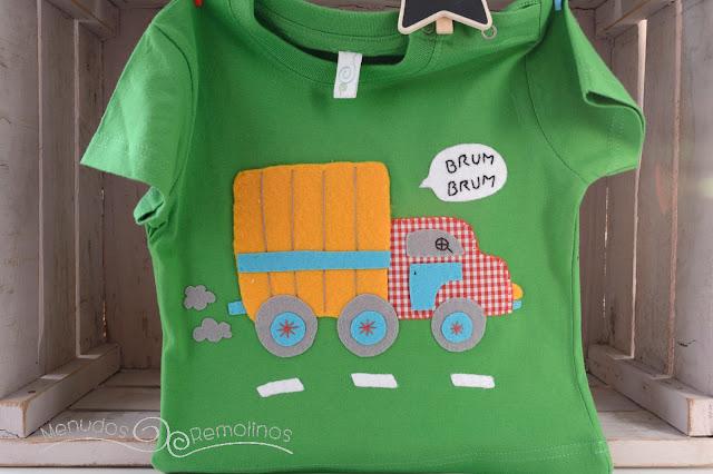 Camiseta camión