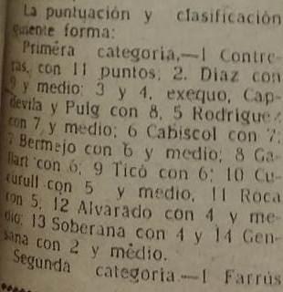 Torneo social de Lérida 1948, nota en La Mañana, 4 de marzo de 1948 (2)