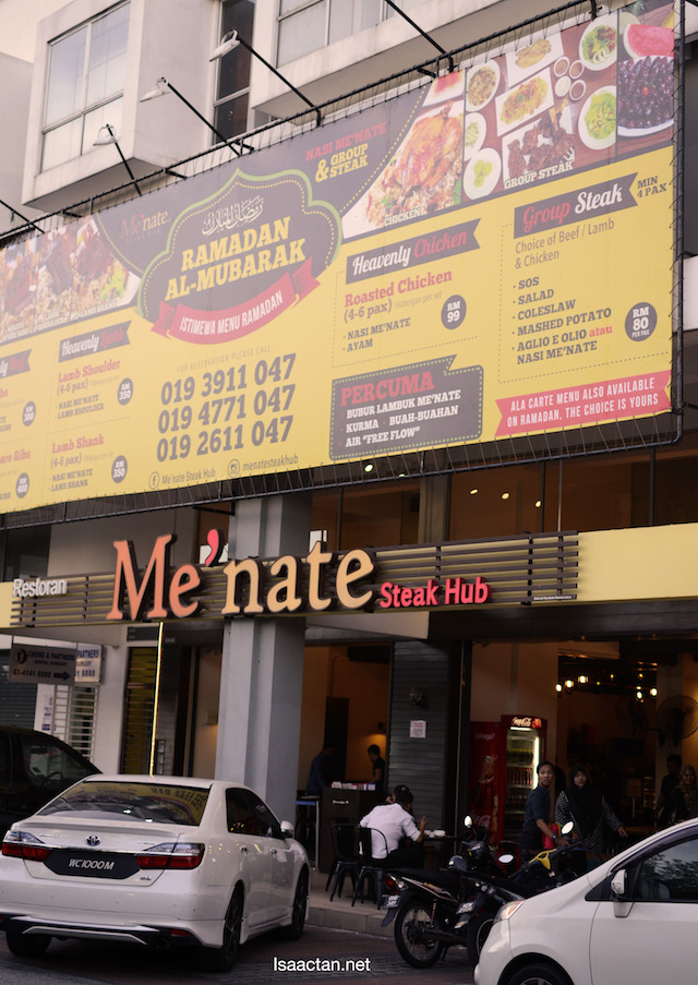 Me'nate Steak Hub, Setapak