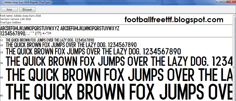 adidas font 2014 ttf download