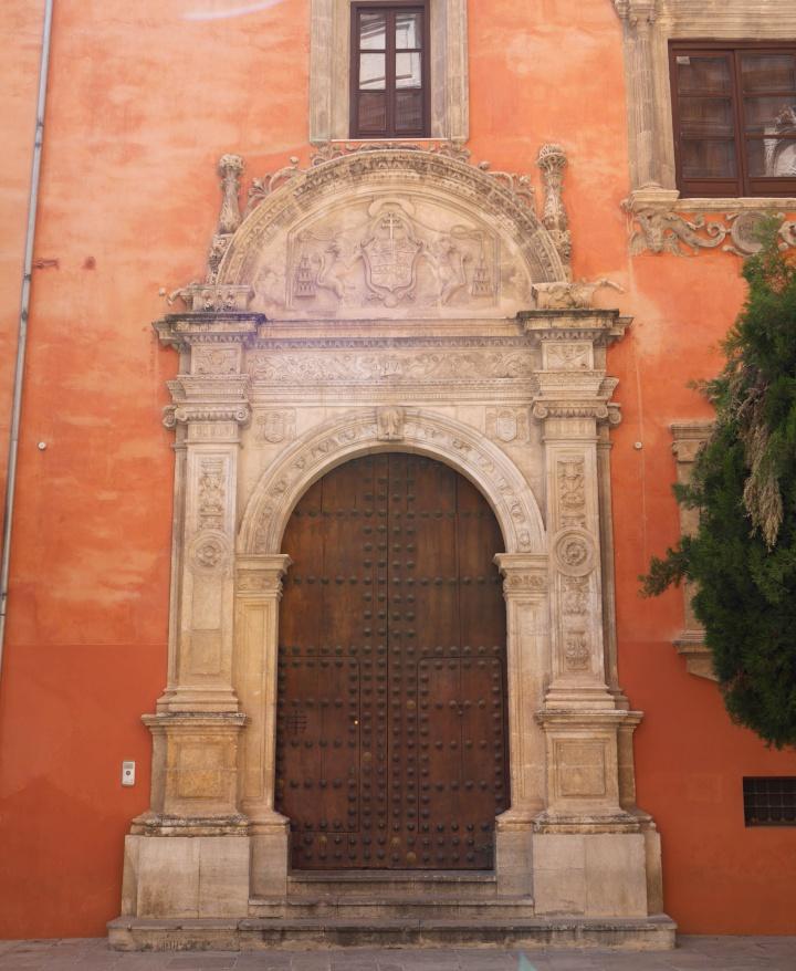 Ancient Portal in Granda, Andalucia