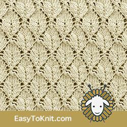 EasyToKnit Estonian Leaf #Lac Knitting
