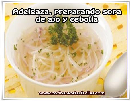 Sopa de batata para adelgazar