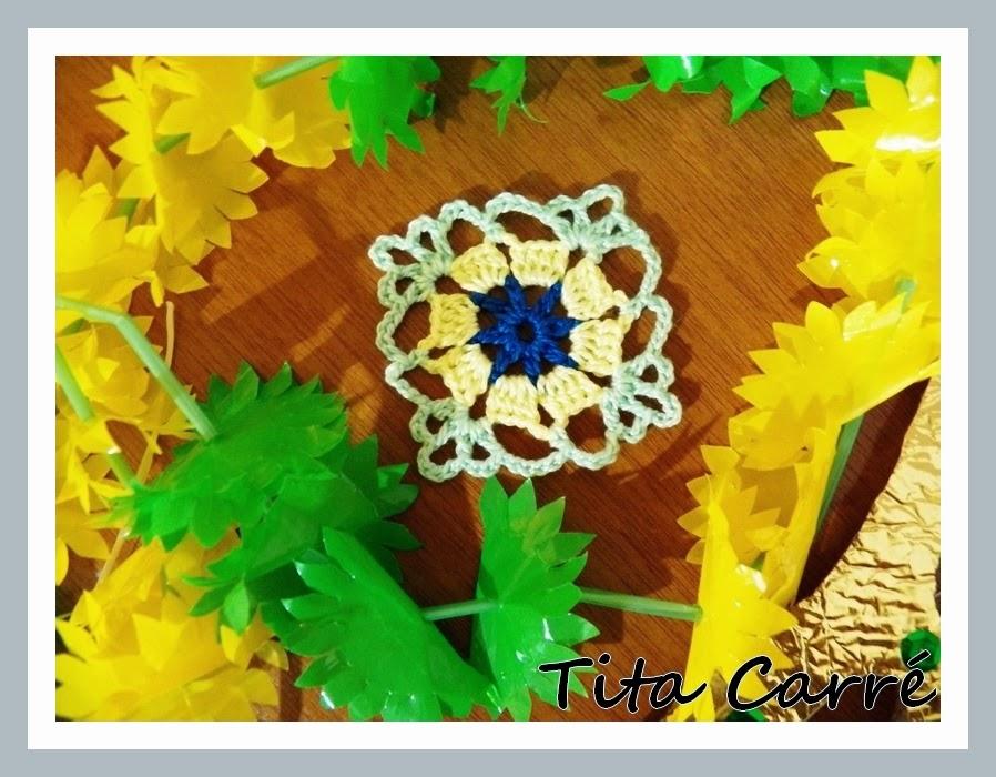 E o Carnaval terminou e o Square em crochet ficou com Noel Rosa...