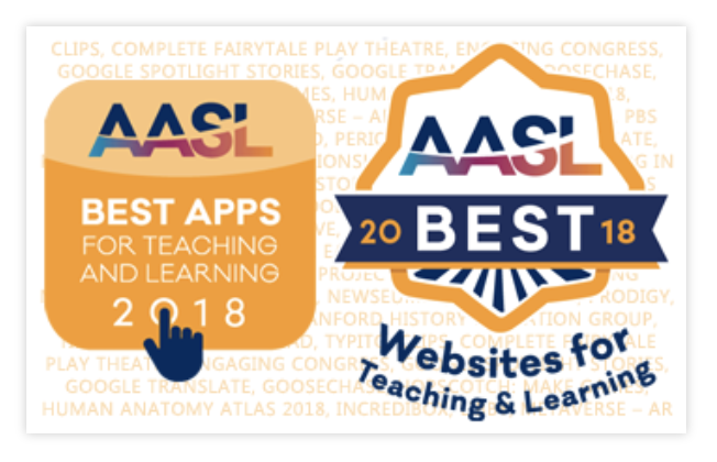 The Library Voice 2018 Aasl Best Apps And Websites Are Announced