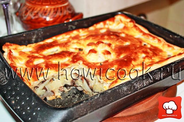 рецепт вкусного пирога с капустой с фото