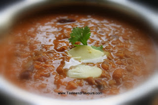 Recipe of Daal Makhani