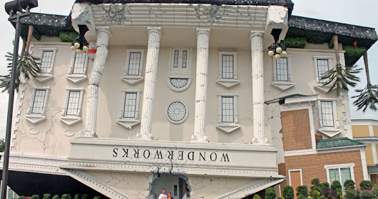 Visiting WonderWorks in Pigeon Forge