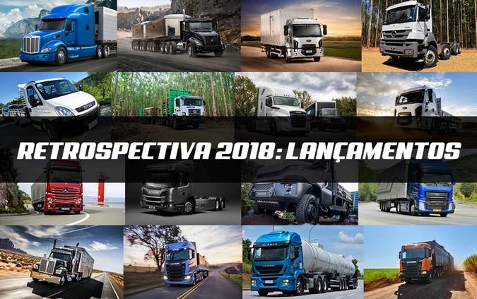 Retrospectiva 2018: Relembre 15 lançamentos no mercado mundial de caminhões