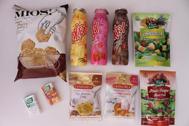 contenido caja mensual degustabox