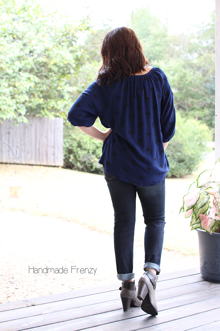Roscoe Blouse // Sewing For Women