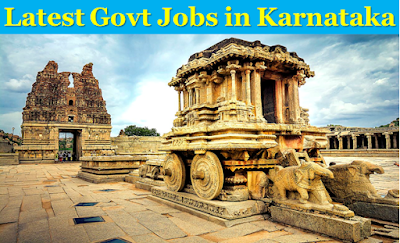 latest government jobs in karnataka and mysore
