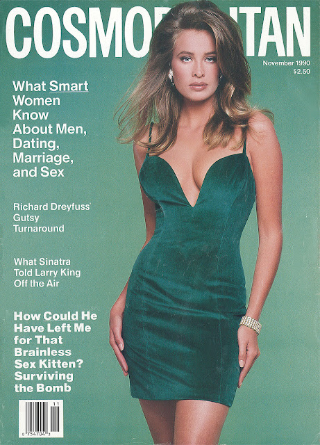 Edição da revista Cosmopolitan de 1990