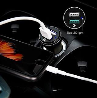 Caricabatterie Quick Charge 2.0 da Auto, Spigen