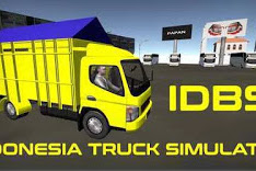 Download IDBS Indonesia Truck Simulator v2.1 (Unlimited Money/Unlocked)