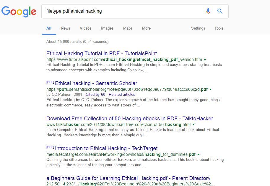 Google Hacking - HACKING STUFF