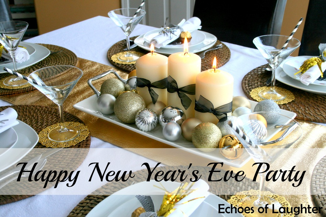 New Years Dinner Party Ideas Part - 19: New Yearu0027s Eve Dinner Party Echoes Of Laughter