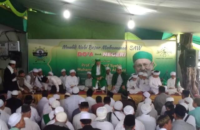 Cucu Syekh Abdul Qadir al-Jilani Hadiri Maulid Nabi PWNU Jakarta