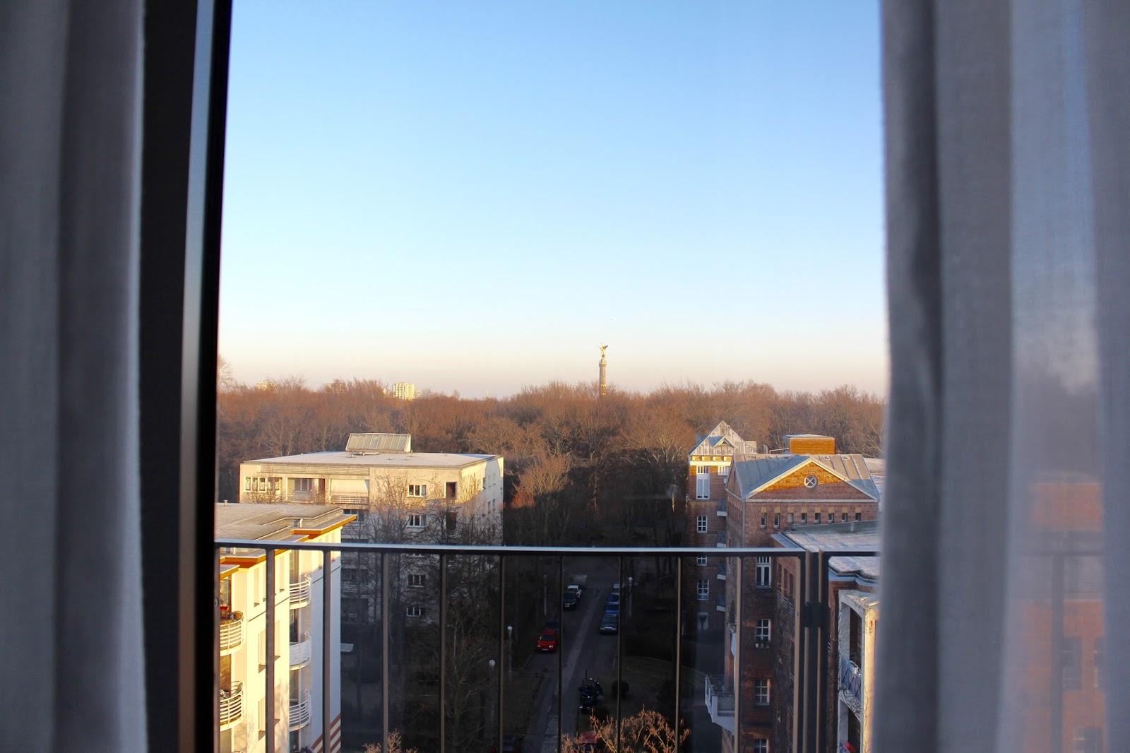 Ausblick auf den Tiergarten vom Hotel Pestana Berlin