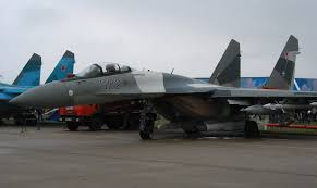 amazing su-35 stations at airbase