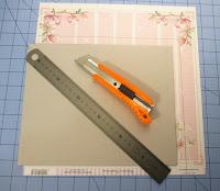 Otra manera de forrar las tapas del libro de firmas