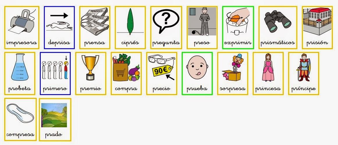 Dibujos Con La Trabada Br: TUS INTERCAMBIOS VIRTUALES CON CLAUDIOXP: Sílabas