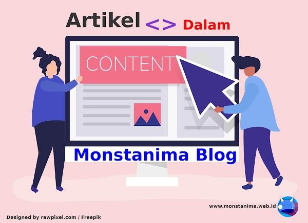 Mengupas Artikel yang Mengandung Tutorial, Opini Pribadi dan Ulasan dalam Blog Monstanima