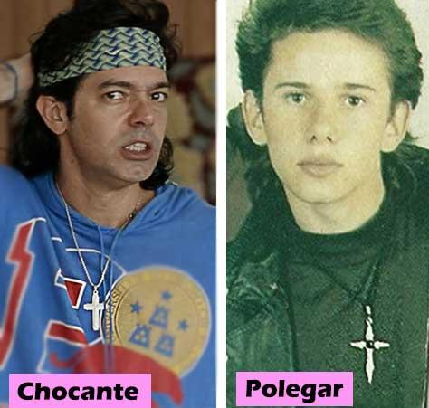 Chocante e Rafael Ilha Polegar