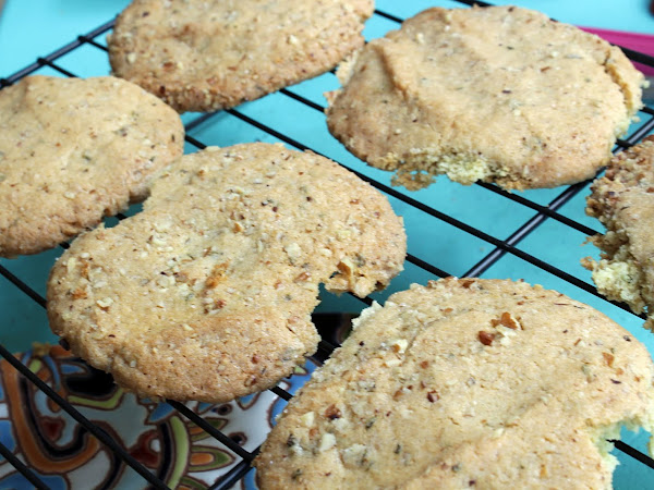 Always keep an eye on the oven (Lemon basil sugar cookies)
