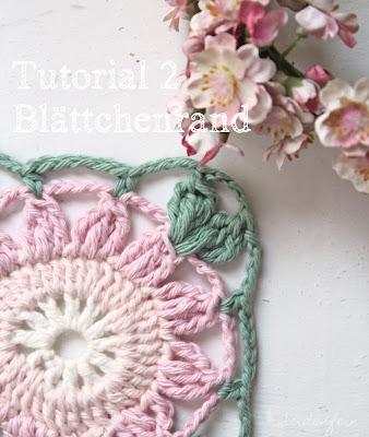 Perlmuttblüten-Granny Tutorial 2