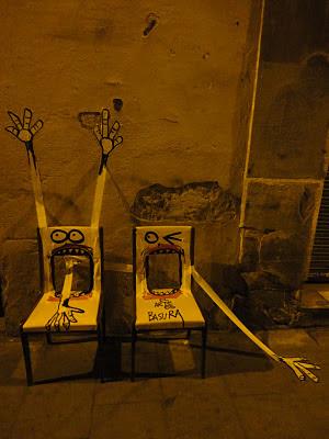 Arte muy peculiar en los basureros