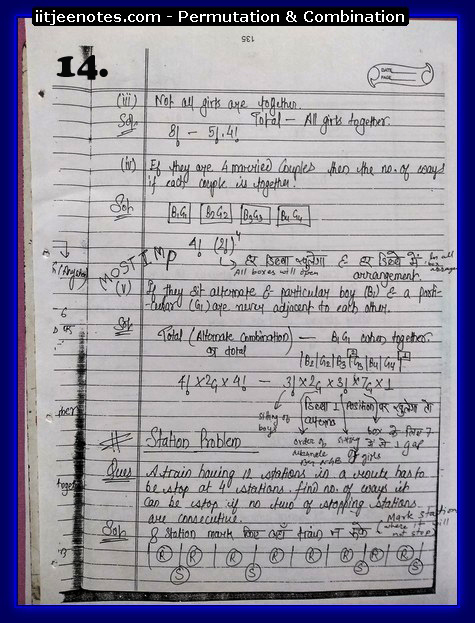 Permutation and Combination notes2