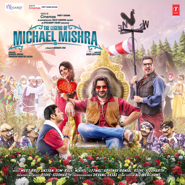 The-Legend-Of-Michael-Mishra Original CD Front Cover Poster wallpaper