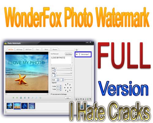 WonderFox Photo Watermark Full Version (72 Hours Giveaway)