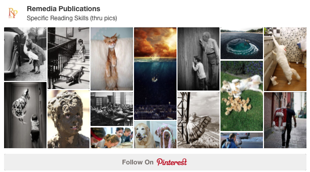 Create a Visual Pinterest Board for Your Students to Reinforce Specific Reading Skills | Remedia Publications