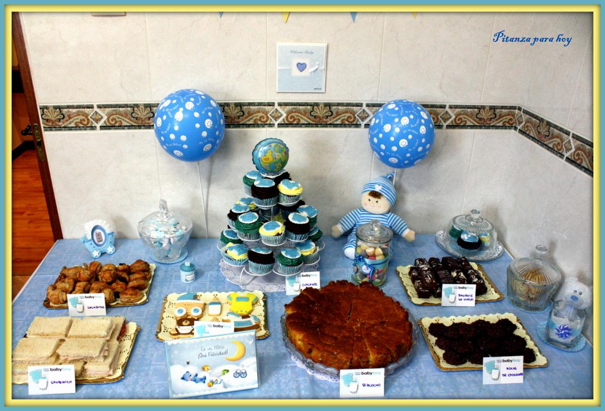Pitanza para hoy c mo organizar una fiesta de baby shower for Mesa de dulces para baby shower nino