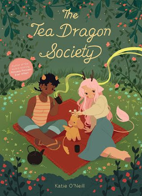 Bea's Book Nook, Review, The Tea Dragon Society, Katie O'Neill