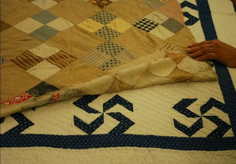 Western Washington Quilt Study Group Bed Turning An