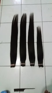 Jual hair ekstension asli
