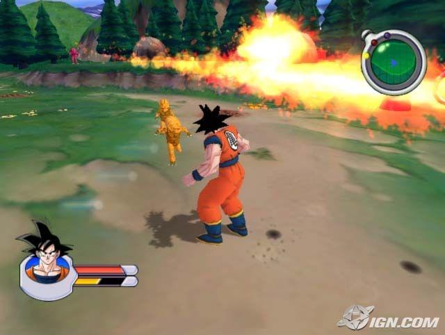 Dragon Ball Z Sagas PS2 GAME ISO Gameplay 1