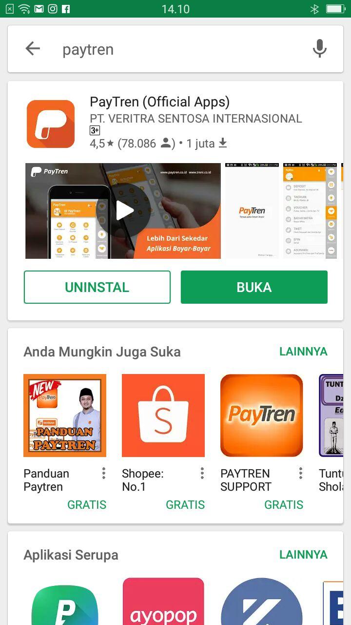 Cara Install Aplikasi Paytren 30 Dan 50 Beta Pytren Juga Ini Baru Yang Sedang Dalam Pengembangan Paytreners Wajib Disini Bisa Transaksi Menggunakan Put Mata