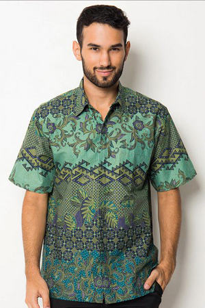 Desain Dan Model Baju Batik Kantor 2016 - 2017 - Fashion Indonesia