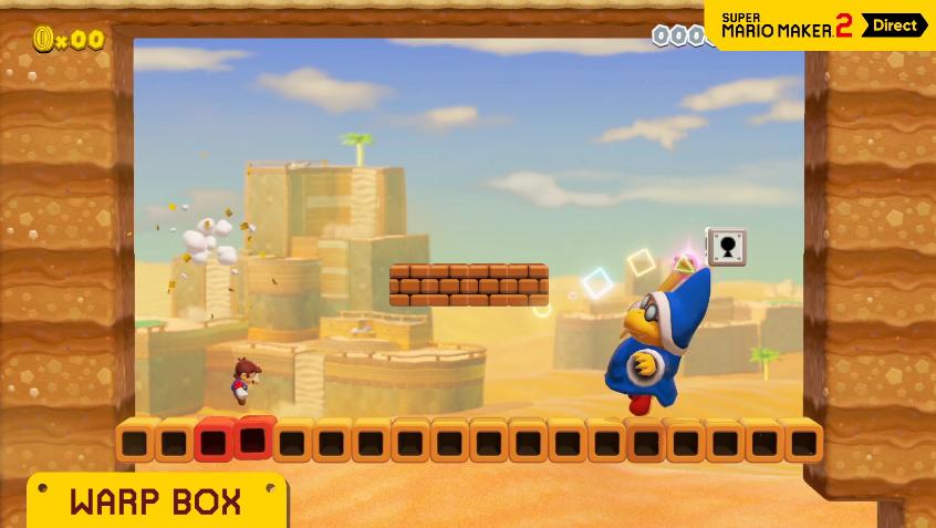 Koopatv Koopatv S Live Reactions To The Super Mario Maker 2 Direct