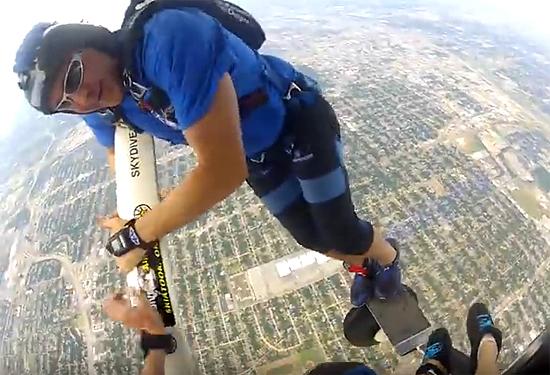 Sydiver Daniel Herndon parachute fail