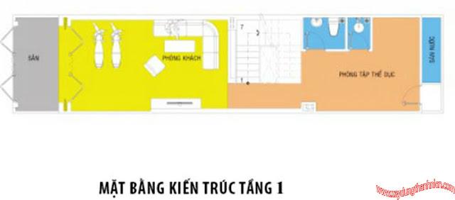 Mẫu Thiết kế nhà phố đẹp 4x15m hiện đại sang trọng