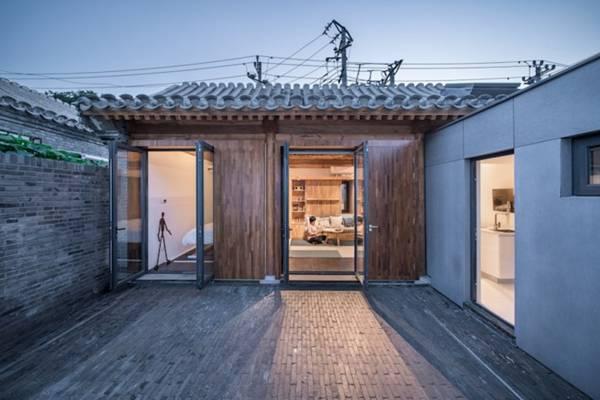 Hình ảnh ngôi nhà gỗ 30m2 đa tiện ích