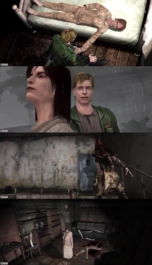 THE SCARIEST 10 VIDEO GAMES THAT TRAUMATIZED PLAYERS 10. Silent Hill 2