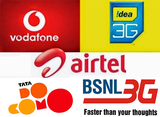 Comparison of 3G Mobile Data Packs offered by Operators in Kerala Telecom Circle